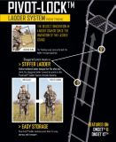 River's Edge 15-ft Onset™ XT Ladder Stand | Ameristep