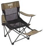 Roots Armchair With Footrest | Roots