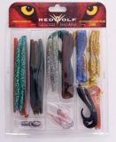 Red Wolf Lunker Worm Lure Kit, 42-pc   Red Wolf   Canadian Tire