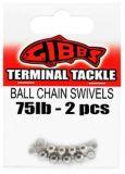 Gibbs Delta Ball Chain Swivel, 75-lb, 2-pc | Gibbs | Canadian Tire