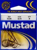 Mustad Kirby Ringed Hooks, Size 3/0, 8-pk | Mustad | Canadian Tire