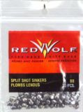 Red Wolf Split Shot Remove Sinkers