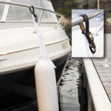Dock Edge Kwik Adjust Fender Lock, White | Dock Edge | Canadian Tire