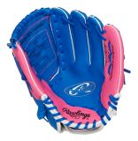Rawlings Blue & Pink Baseball Glove, Regular, 11-in | Rawlings