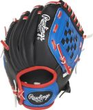 Rawlings Player Series Baseball Glove, Youth, Blue/Black/Red, 8.5-in | Rawlings | Canadian Tire