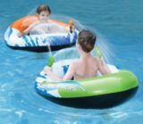 Manoeuvres Inflatable Pool Raft with Squirt Guns | Aqua | Canadian Tire