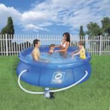 Hydro-Force Simple Set Soft-Sided Pool, 8-ft x 8-ft x 26-in | Hydro-Force