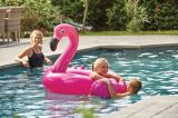Inflatable Oversized Ride-On Pool Flamingo, 48-in | Summer Waves | Canadian Tire