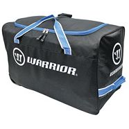 Warrior Wheeled Hockey Bag, Black, 34-in