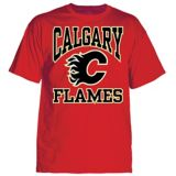 Calgary Flames Triline T-Shirt, Youth, Red | NHL | Canadian Tire