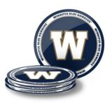 Winnipeg Blue Bombers PVC Coaster Set, 4-pk | CFL | Canadian Tire