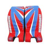Warrior Contoured Hockey Goalie Pads, 24-in | Road Warrior