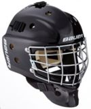 Bauer NME3 Hockey Goalie Mask, Black, Youth | Bauer