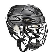 Warrior PXSE Hockey Helmet Combo, Black