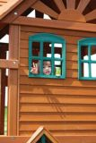 Cedar Summit Mountainview Resort Wooden Play Centre | Cedar Summit