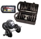 Cap Barbell Dumbbell Weights Set, 40 lb | Cap Barbell