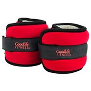 GoodLife Fitness Ankle/ Wrist Weights, 1-lb, 2-pk