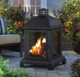 For Living Marseille Outdoor Fireplace |