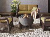 CANVAS Cobalt Fire Bowl | Canvas