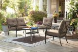 Ensemble de détente, collection Sutton, 4 pces | For Living