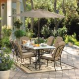 Table de jardin rectangulaire, collection Sutton | Sutton Collection