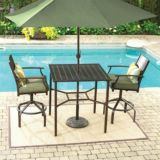 Monterey Collection High Dining Patio Table | For Living