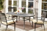 CANVAS Covington Boat Shape Patio Dining Table, 40 x 70-in | Canvas