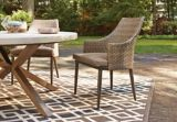 CANVAS Seabrooke Wicker Patio Dining Chair, 2-pk | Canvas