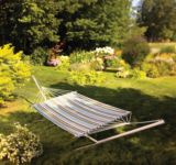 Double Blue-Striped Hammock | For Living