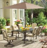 La-Z-Boy Aberdeen Collection Cushioned Swivel Rocker Patio Dining Chair | Aberdeen Collection