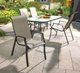 Parsons Collection Sling Patio Dining Chair | Parsons Collection