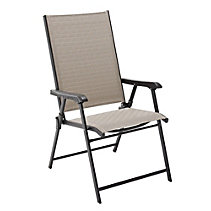 Parsons Collection Sling Folding Patio Chair