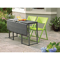 Umbra Loft Collection Woven Folding Patio Table