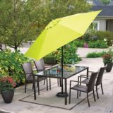 Cabana Collection Patio Umbrella, Green, 9-ft | For Living