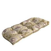 Summerset Collection Wicker Bench Patio Cushion