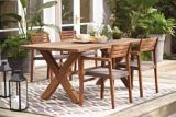 CANVAS Teak Patio Dining Chair | Canvas