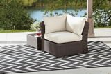 CANVAS Salina Collection Sectional Corner Patio Chair | Canvas