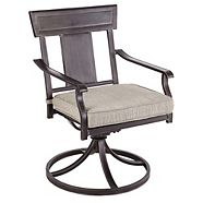 CANVAS Dashley Swivel Patio Dining Chair