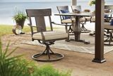 CANVAS Dashley Swivel Patio Dining Chair | Canvas