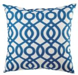 CANVAS Capilla Blue Toss Cushion with Tri-pel, 20-in | Canvas