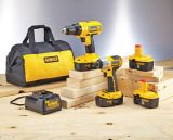 Perceuse et tournevis à percussion sans fil DEWALT, 18 V, Ni-Cd | Dewalt