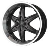 DIP Wicked D39 wheel in Black with Machined Lip | DIP