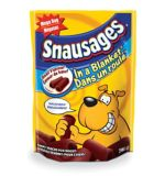 Snausages in a Blanket Beef Dog Treats, 708 g | Snausages
