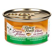 Dîner Purina Fancy Feast plats en sauce, saumon, 85 g