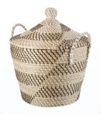 CANVAS Natha Basket with Lid | Canvas