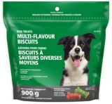 Biscuit Dog Treats, Multi-flavour | Paws Up