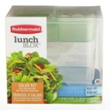 Rubbermaid Salad Lunch Blox Kit | Rubbermaid