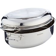 PADERNO Stainless Steel Multi-Roaster with Removable Rack