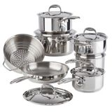 PADERNO Canadian Signature Stainless Steel Cookware Set, 13-pc | Paderno | Canadian Tire