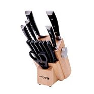 Sabatier Forged Pop-Out Knife Set, 13-pc